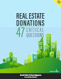 Real Estate Donations 47 Critical Questions